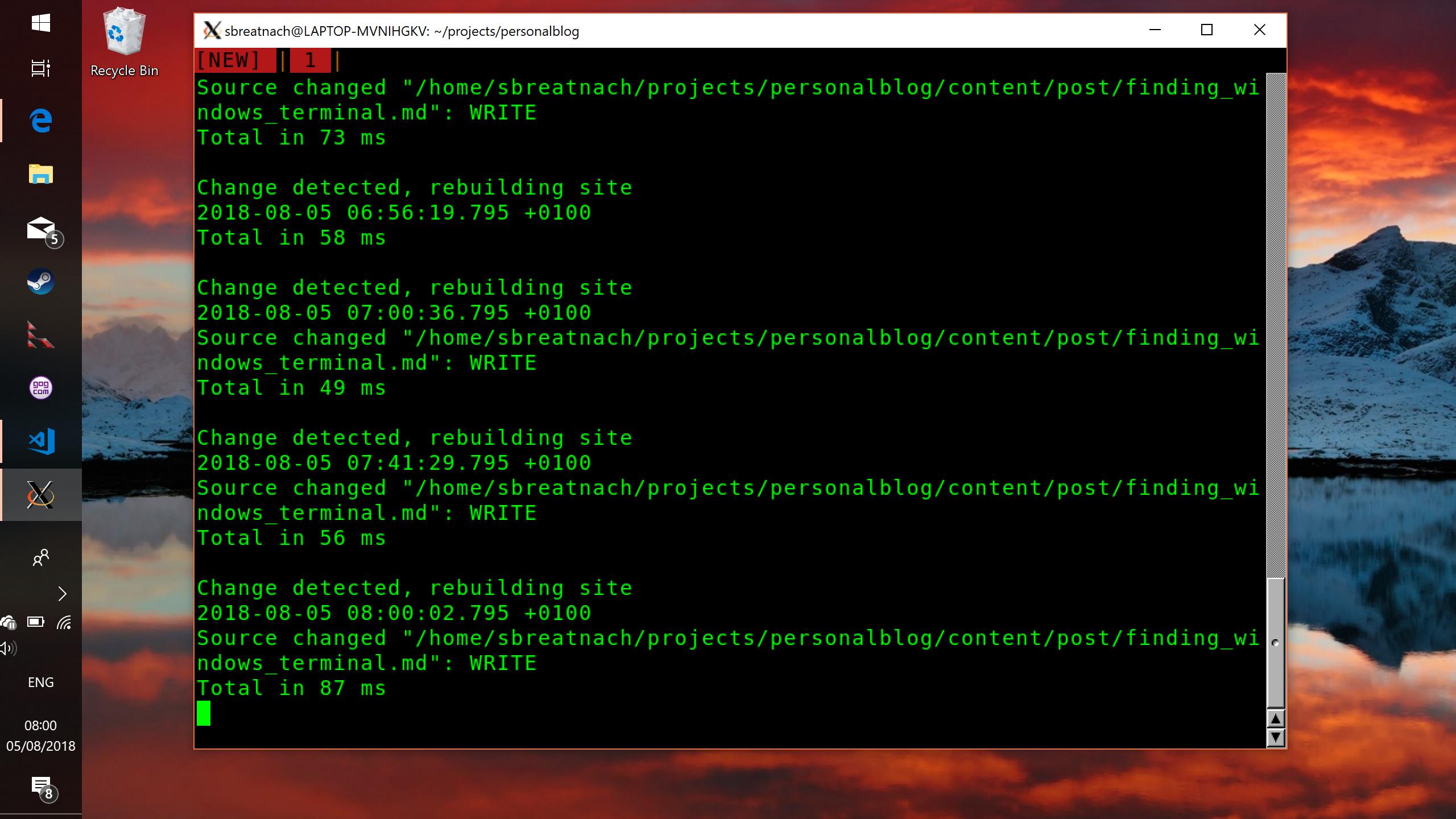 Finding a good Windows terminal